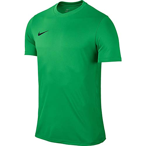 Nike Park VI Camiseta de Manga Corta para hombre, Verde (Hyper Verde/Black), M