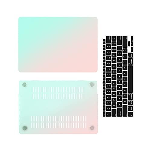 MacBook Air 13 Pro caso para MacBook M1 chip Air Pro Retina 13 pulgadas funda para portátil A1932 A2337 A2338 a1466 portátil Case-C-Model A2159