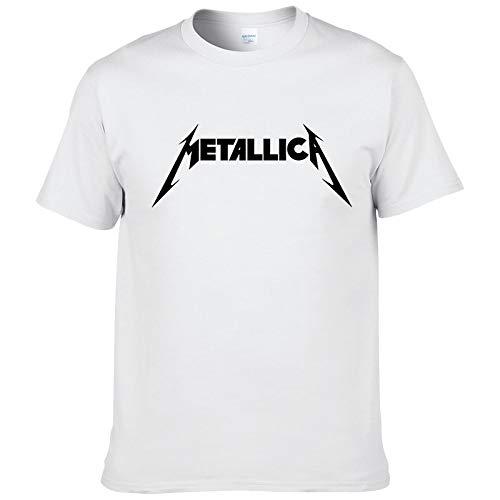 Metallica Hard Metal Rock Band Men's T-Shirt T Shirt For Men Short Sleeve Cotton Casual Top tee Camisetas Masculina #199