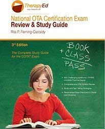 National OTA Certification Exam Review and Study Guide