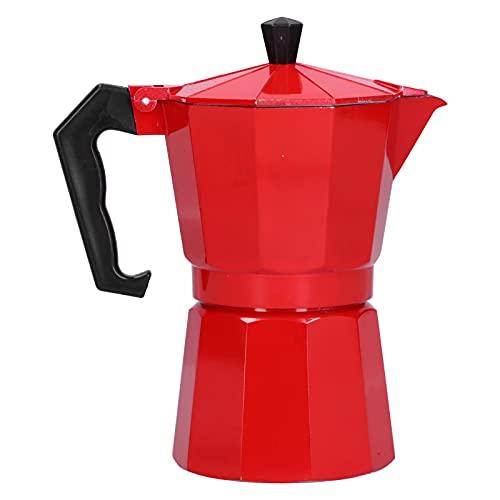 Cafetera, cafetera Moka de 300 ml, cafetera casera para suministros para el hogar