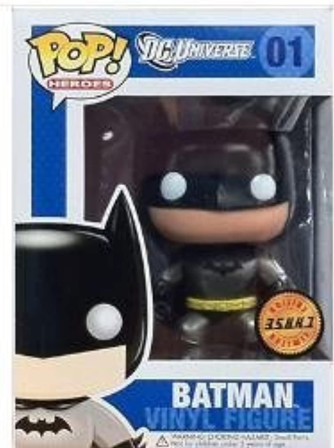 DC Comics POP Heroes  schwarz Batman Chase Variant (Metallic) Vinyl Figures by Funko