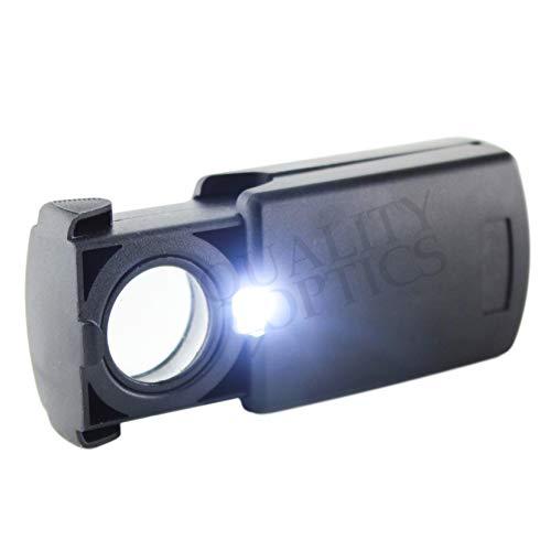 Quality Optics USA - Slide-Out Auto-On LED Illuminated Magnifier (20X 19mm)