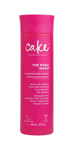 Cake Beauty Posh Wash Sulfate-free Swirl Shampoo, 10 Ounces