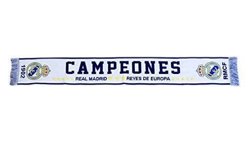 Écharpe Telar Champions Real Madrid – Produit sous licence –