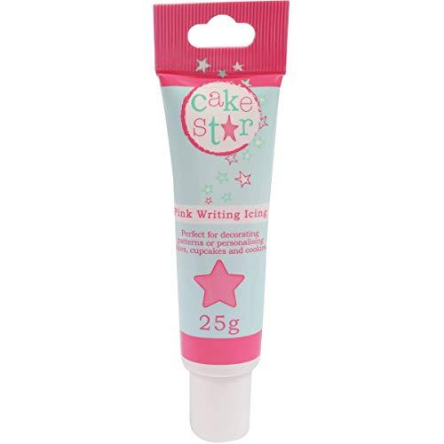 Cake Star Writing Icing - Pink