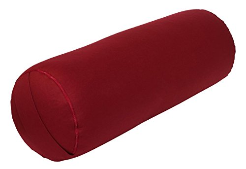 Yoga y Pilates Bolster Made in Germany, Burdeos