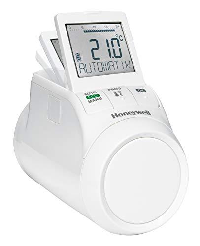 Honeywell Home, HR90WE, Cronotermostato settimanale elettronico da termosifone, Bianco