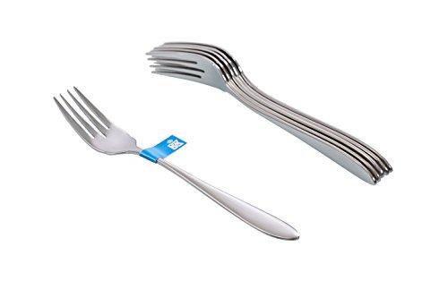 bk cookware C1450.6VV Vliet 6 Fischgabeln, 3 mm, 176 mm, 18/10 Edelstahl