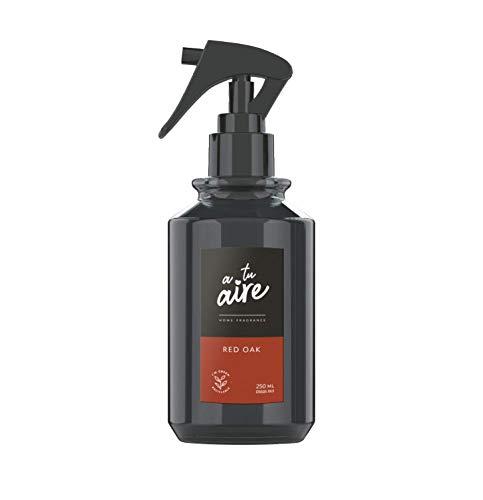 A tu aire Home FRAGANCE | Ambientador Pulverizador, | Fragancia Amaderada | Perfume Red Oak, | Contenido: 250 ml