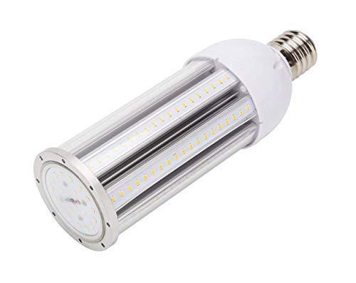 MASSIMUM 54W LED Corn Bulb Street Lamp,180W Metal Halide/HPS/HID Equivalent 6480 Lumen E39 Large Mogul Screw Base,Daylight White 5000K,360 Degree Beam Angle,IP64 Waterproof UL/DLC,Workshop Fatory Lamp