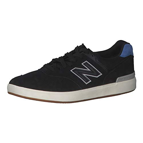 New Balance Iconic 574 V1, Zapatillas Hombre, Black Royal, 38 EU