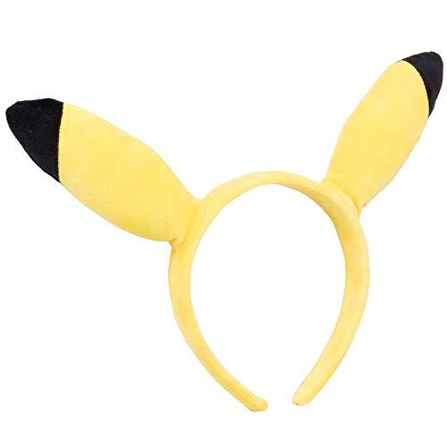 Pokémon Pikachu Plush Headband – Pikachu Ears For Accessory, Dress Up and More – One size