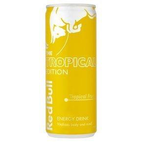 Red Bull Tropical Trinkflasche, 250 ml, 12 Stück