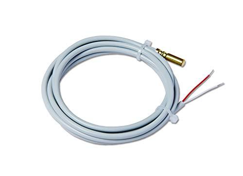 Sensor de temperatura PT1000, cable de PVC de la sonda de inmersión 2,0 m