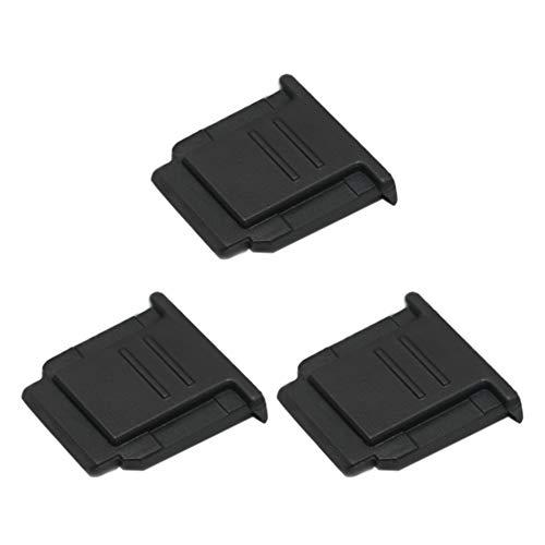 VKO Blitzschuhabdeckung Blitzschuh-Abdeckkappe geeignet für Sony A6100 A6600 A7RIV A7III A6500 A6400 A6000 A77II A7RIII A7SII A99II RX1RII RX10II RX100II...
