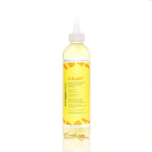 Aunt Jackie's Girls E-Blast Reparation du Cuir Chevelu Vitamine E et Graines de Lin Oil Spray 8 Oz
