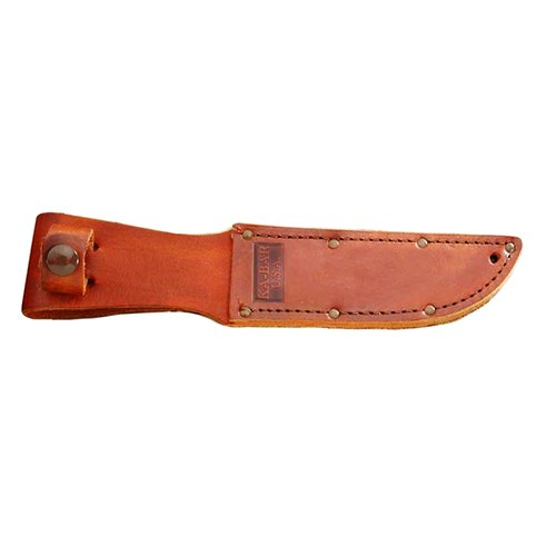 Ka-Bar USA Leather Sheath, 5-1/4 Inch, Brown