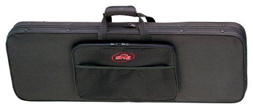 SKB Electric Guitar Soft Case with EPS Foam Interior/Nylon Exterior, Back Straps