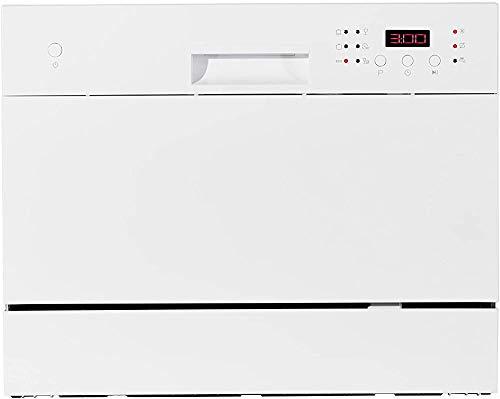 Compact, bureau de bureau autonome lave-vaisselle lave-vaisselle,White