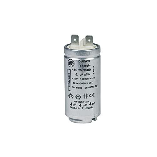 CONDENSATEUR MOTEUR REP 11A 4ΜF 475 V POUR SECHE LINGE ELECTROLUX - 125641801