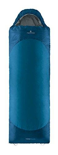 Ferrino Yukon Plus SQ DX Sac de Couchage, Bleu, L