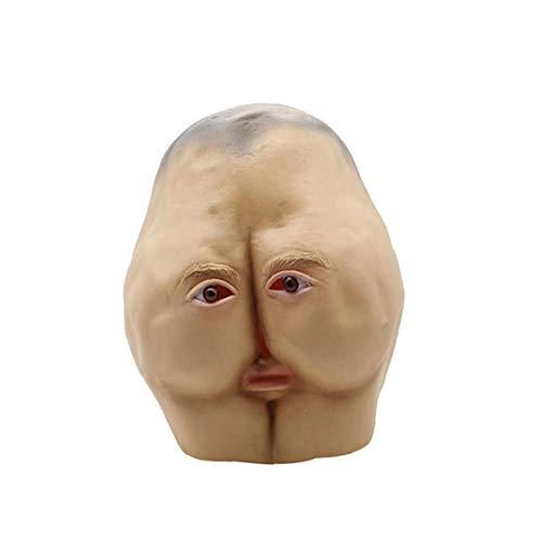 NorCWulT Máscara de Halloween para Adultos Divertido Mascarilla Facial...