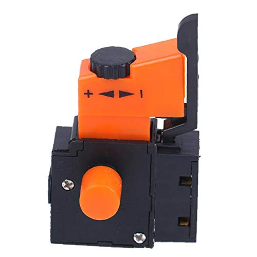 Aardich Interruptor de Control de Velocidad de Taladro eléctrico del Interruptor de Disparo FA2-4 1BEK Mano/Taladro de Velocidad Regulador Ajustable para Taladro eléctrico