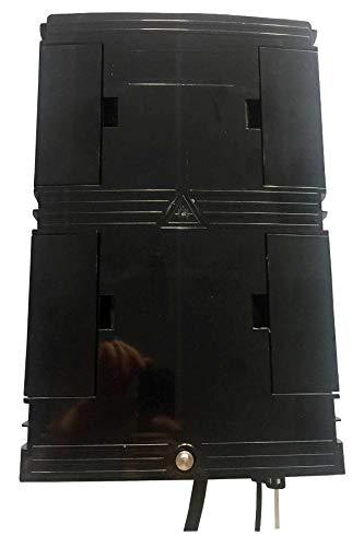Box voor muur of palen, 32 x 21 x 8,7 cm, voor 16 vezels
