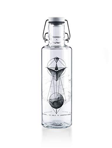 Soulbottle Flasche, Glas, transparent, 0,6 Liter