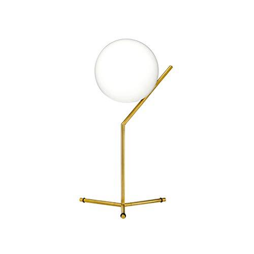 Minimalistische tafellamp, modern, ronde tafellamp, mode, kristallen bollen, creatieve decoratie, kamer, slaapkamer, leeslamp, bedlampje