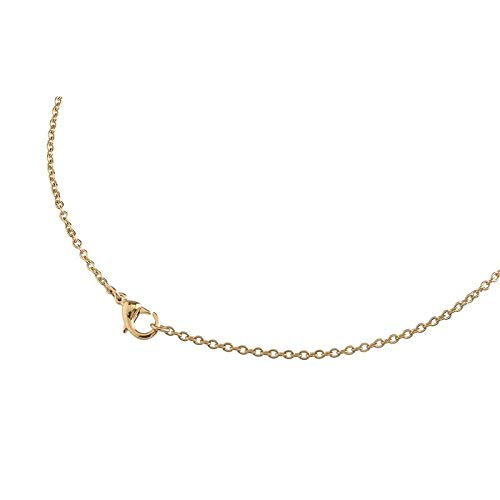 Boccia Halskette 08027-0255 Titan vergoldet Anker