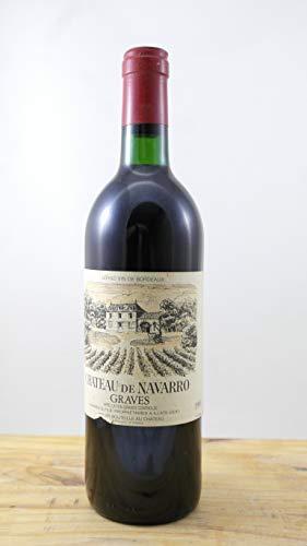 Wein Jahrgang 1985 Château de Navarro