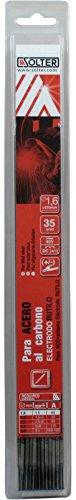 SOLTER - Electrodos de rutilo E6013 (1,6 x 300 mm, 35 unidades)