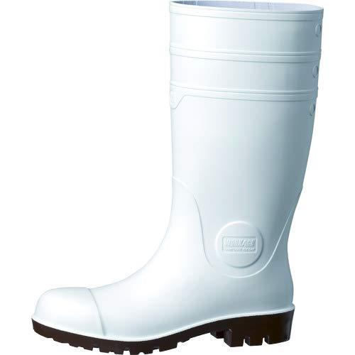 [ミドリ安全] 安全長靴 先芯入り 耐油 耐薬 ワークプラス NW1000 スーパー ホワイト 24.0 cm 4E