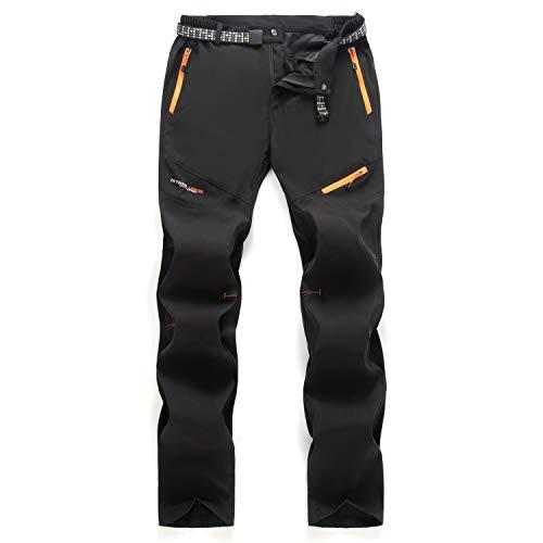 7VSTOHS Pantaloni da Trekking da Uomo Primavera Estate all aperto Pantaloni da Passeggio Leggeri e Traspiranti Pantaloni Casual da Arrampicata Sportiva