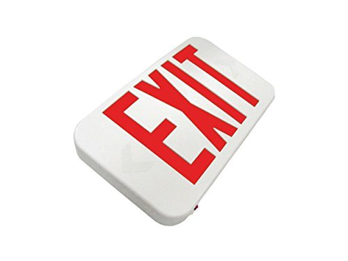 Howard Lighting HL0301BRW Exit Sign with White Case/Housing by Howard Lighting