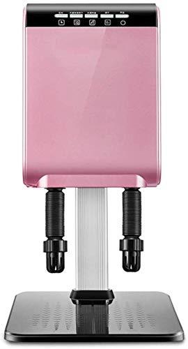 Schuhtrocknung Schuhwarttrockner, elektrischer Heißluftwärmer Heizung mit Teleskopschlauch und auf dem Desinfektionsmittel Wandmontierter Tragbarer Schuhwarttrockner, Goldtrockner (Farbe: Rosa)