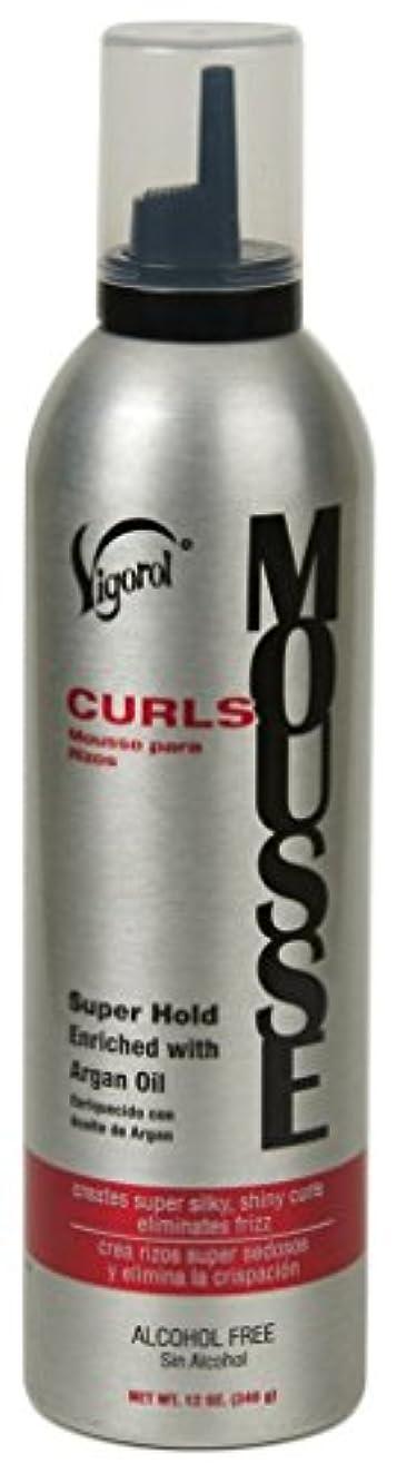 Vigorol Curls Mousse, 12 Ounce