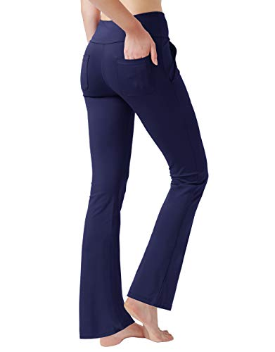 Haining Women's High Waisted Boot Cut Yoga Pants