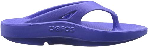 OOFOS - Unisex OOriginal - Post Exercise Active Sport Recovery Thong Sandal - Periwinkle - M12/W14