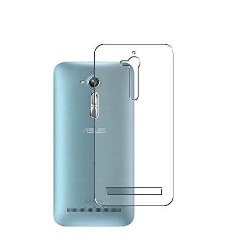 Vaxson 2 Unidades Protector de pantalla Posterior, compatible con Asus zenfone Go ZB500KL ZB500KG [No Carcasa Case ] Película Protectora Skin Cover Piel