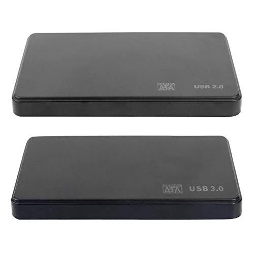 fansheng Caja de Disco Duro de 2,5 Pulgadas Adaptador SATA a USB3.0...