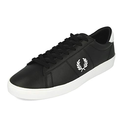 Fred Perry Spencer Leather Black 43
