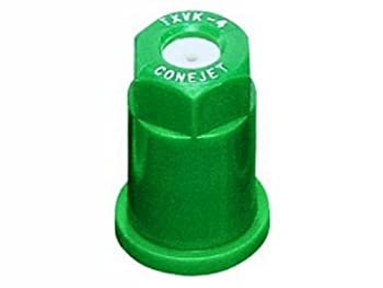 TeeJet TX-VK4 Hollow Cone Spray Tip 0.13-0.32 GPM 40-120 psi Ceramic - Green
