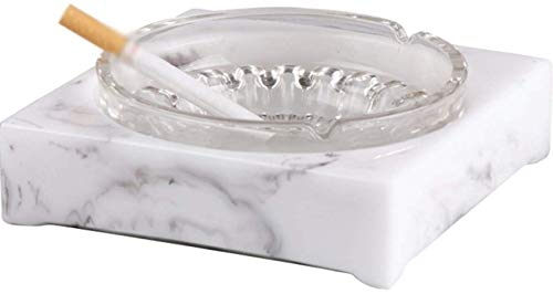Preisvergleich Produktbild MWPO Hochwertige Aschenbecher Wohnzimmer kreative Einfachheit modernen Aschenbecher Haushaltszubehör Rauchbecher Anzeige A