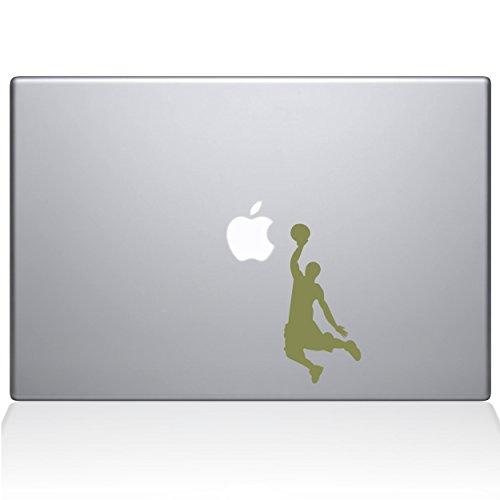 Adesivo de vinil The Decal Guru Slam Dunk MacBook – MacBook Pro de 13 polegadas (2016 e mais recente) – Ouro (1173-MAC-13X-G)