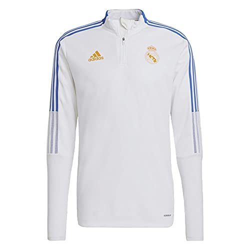 adidas Real TR Top Sweatshirt, Mens, White, 2XL