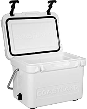 Coastland Bay Series Coolers Insulated Rotomolded Ice Chest 15-Quart