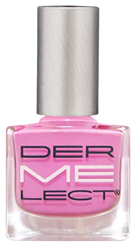 DERMELECT COSMECEUTICALS 'ME' Peptide-Infused Nail Lacquers - Moxie, Plucky Pink Creme (0.4 Fluid Ounce / 11 Milliliters)